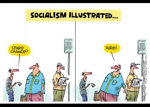 redistsocialismillustrated